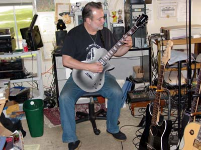 "Eric Van der Wyk plays the Fernandes Monterey Elite ""Sustainer"" guitar"